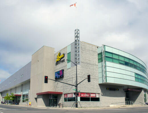 Kingston's Leon's Centre large venue for live music.