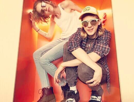 Kingston punk duo The Meringues