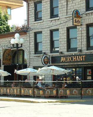 The Merchant live music venue in Kingston
