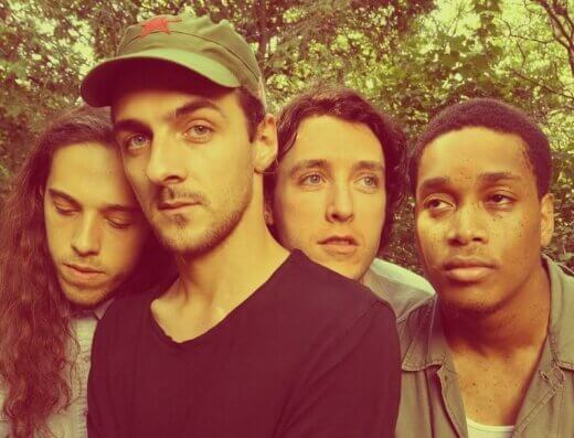 Kingston's Kasador in a press photo, featuring new member, Jonas Lewis-Anthony